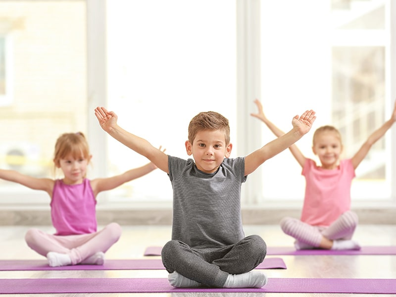 Physical exercises are recommended for children